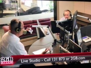 Dr V. Kuzinkovas interview on Chris Smith show, Radio