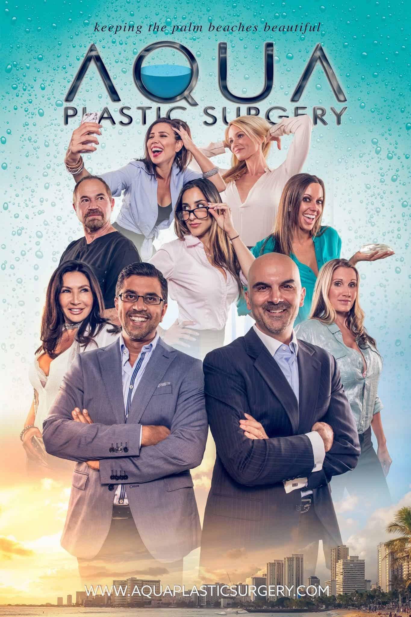 Aqua Plastic Surgery Staff