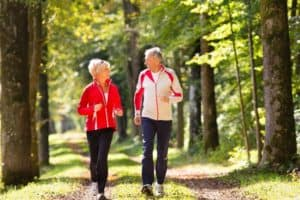 Elderly Couple Photo for Knee Replacement Page