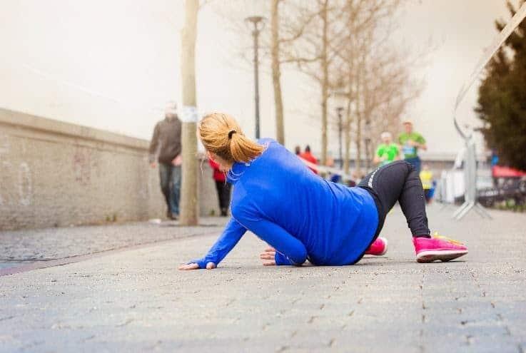 Hip Injury while Running