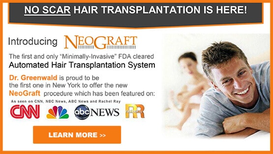 No scar hair transplantation Westchester County