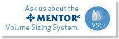 Mentor Volume Sizing System