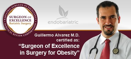 Bariatric surgeon Dr. Guillermo Alvarez