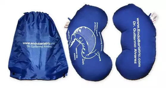 Gastric sleeve pillow & discharge package bag