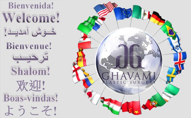 Welcome of Town Patients to Ghavami Plastic Surgery in Beverly Hills
