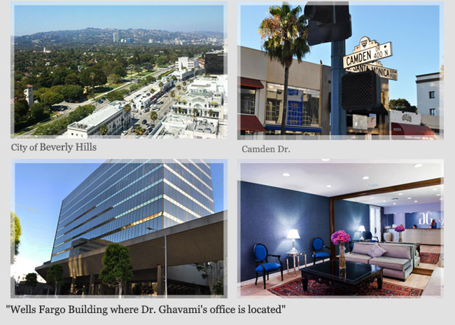 Ghavami Plastic Surgery Office in Beverly Hills