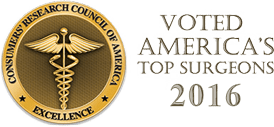Consumers' Research Council of America – Top Surgeon 2016