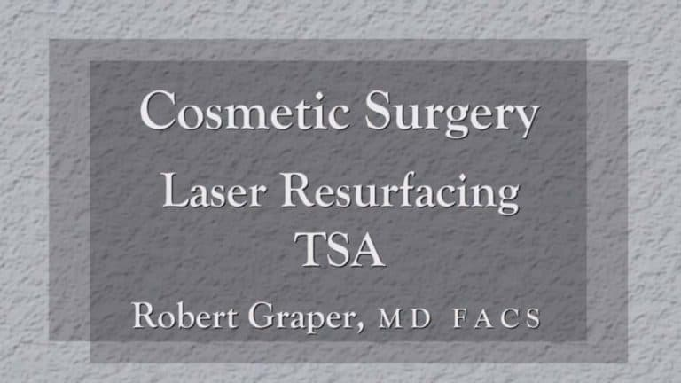 Laser Resurfacing education at Dr. Graper's Seminar
