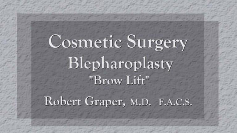 Blepharoplasty education at Dr. Graper's Seminar