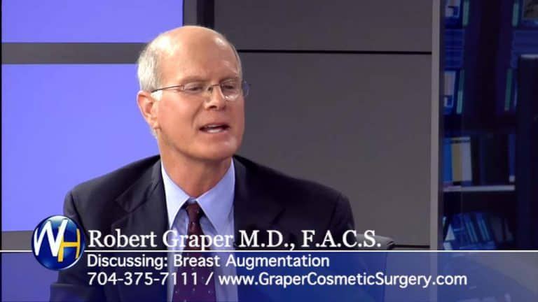Breast Augmentation Dr. Robert Graper on The Wellness Hour