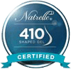 Natrelle 410 Shaped Gel Certified Logo