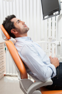 Relaxed oral sedation dentistry patient in Sylvania, OH at Dental Health Associates