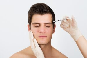 Botox Injections in Progress