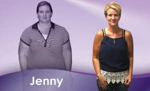 Before and After Weight Loss Jenny