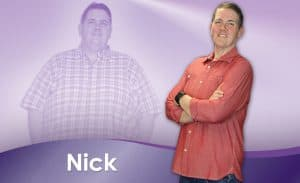 Before and After Weight Loss Nick