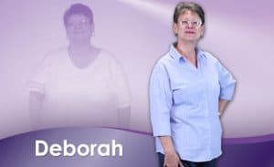 Before and After Weight Loss Deborah