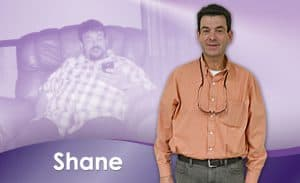 Before and After Weight Loss Shane