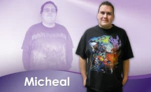 Before and After Weight Loss Micheal