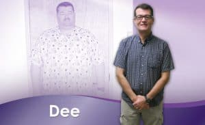Before and After Weight Loss Dee