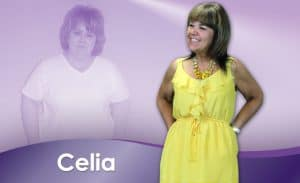 Before and After Weight Loss Celia