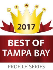 Best of Tampa Bay 2017 Award