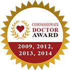 Compassionate Doctor Award 2009, 2012, 2013, 2014