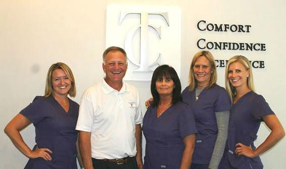 Dr. Tony Cascino & his Staff