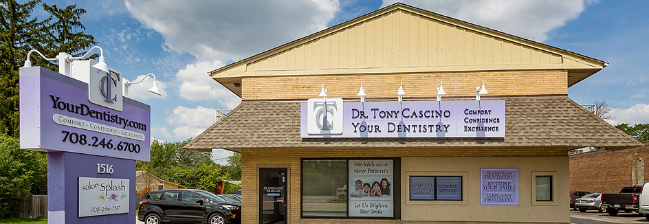 Dr. Tony Cascino Storefront in Countryside, IL
